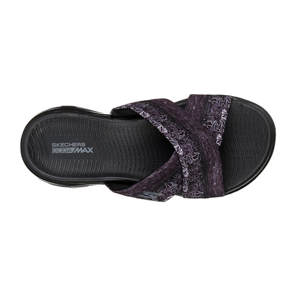 Skechers On-The-Go Womens Strap Sandals