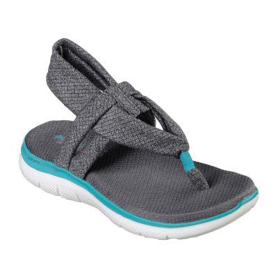 Skechers Flex Appeal 2.0 Womens Strap Sandals