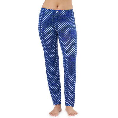 Lissome Elastic Print Pant With Satin Bow