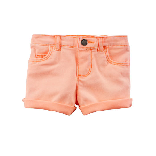 Carter's Pull-On Shorts Baby Girls