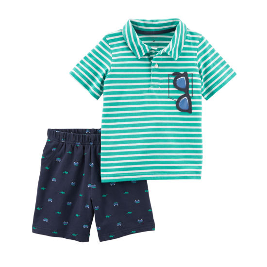 Carter's 2-pack Short Set Toddler Boys