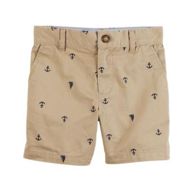 Carter's Nautical Print Chino Shorts - Toddler Boys 2T-5T