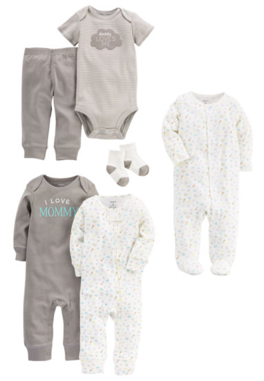 Carter's 9-Pc. Layette Gift Set-Baby Unisex