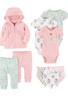 Carter's 9-Pc. Infant Essential Layette Gift Set-Baby Girls
