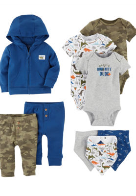 Carter's 9-Pc. Infant Essential Layette Gift Set-Baby Boys