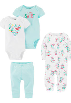 Carter's 4-Pc. Layette Gift Set-Baby Girls