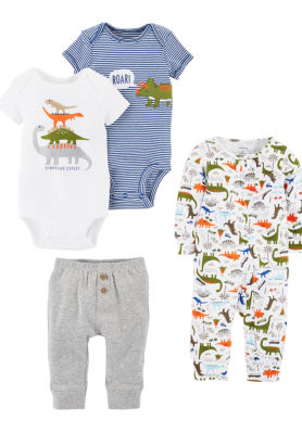 Carter's 4-Pc. Layette Gift Set-Baby Boys