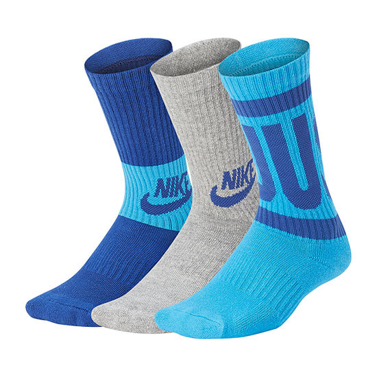 75630e4a6 Nike Performance Cushioned Graphic Crew 3 Pack - Boys - JCPenney