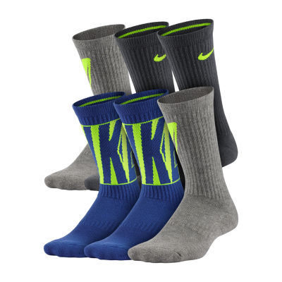 Nike Performance Cushioned Graphic Crew 6 Pack - Boys