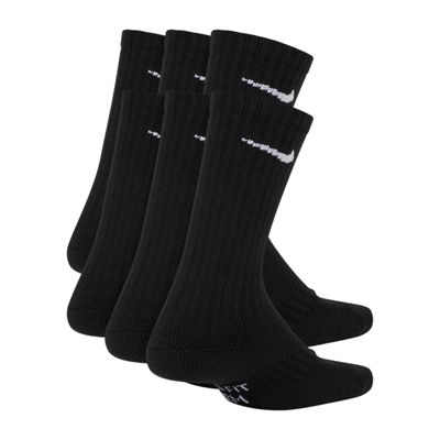 Nike® Boys' Performance Cushioned Crew Socks 6-Pack