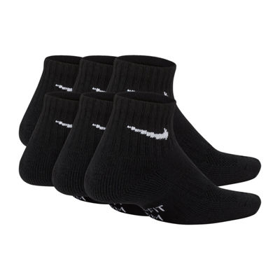 Nike® Boys' Performance Cushioned Quarter Socks 6-Pack