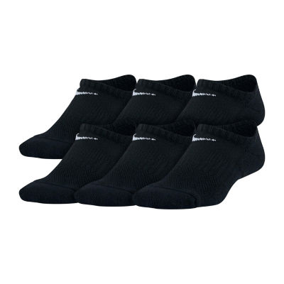 Nike Performance Cushioned No-Show 6 Pack Socks - Boys