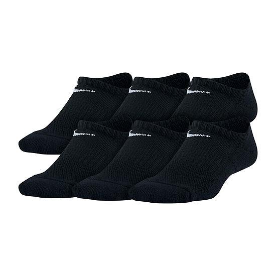 Nike-Big Kid Boys 6 Pair No Show Socks