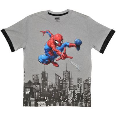 Boys Crew Neck Short Sleeve Avengers Graphic T-Shirt Preschool / Big Kid