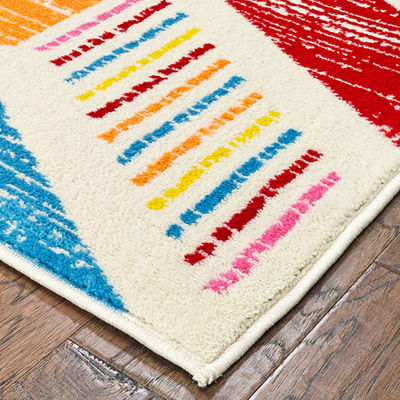 Whimsical Flying Arrows Rug