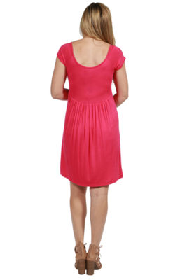24/7 Comfort Apparel Lillian Maternity Dress