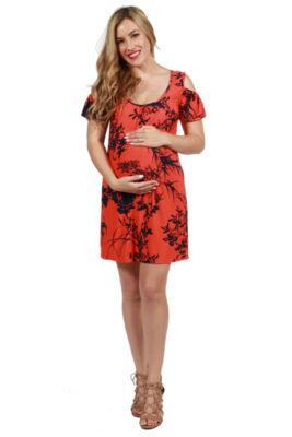 24/7 Comfort Apparel Wren Maternity Dress