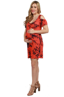 24/7 Comfort Apparel Wren Maternity Dress