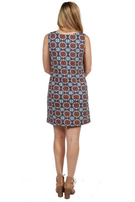 24/7 Comfort Apparel Savannah Maternity Shift Dress