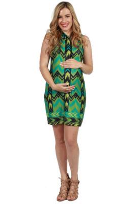 24/7 Comfort Apparel Rochelle Maternity Dress