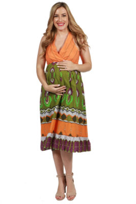 24/7 Comfort Apparel Melinda Maternity Dress