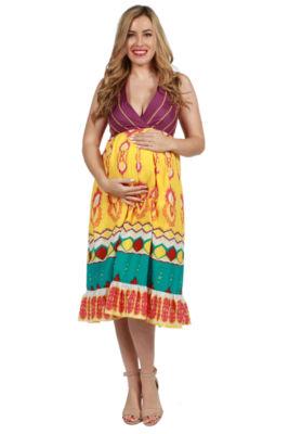 24/7 Comfort Apparel Susannah Maternity Dress
