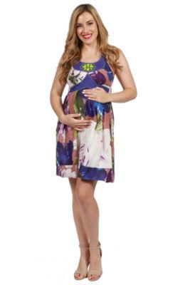 24/7 Comfort Apparel Barbara Maternity Dress