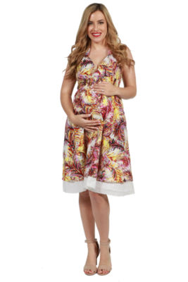 24/7 Comfort Apparel Maeve Maternity Dress