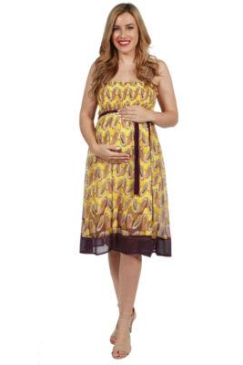24/7 Comfort Apparel Gianna Maternity Dress