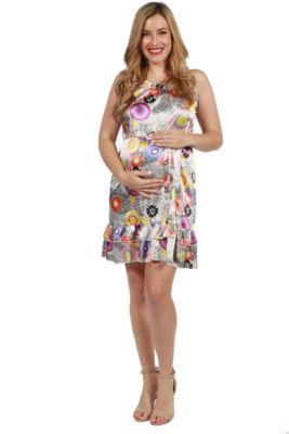 24/7 Comfort Apparel Laila Maternity Dress