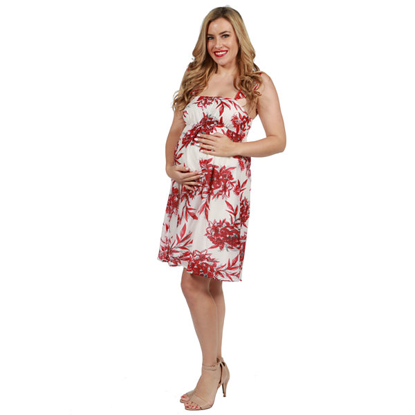 24/7 Comfort Apparel Rena Maternity Dress
