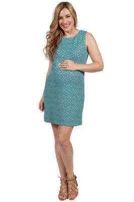 24/7 Comfort Apparel Carson Maternity Dress