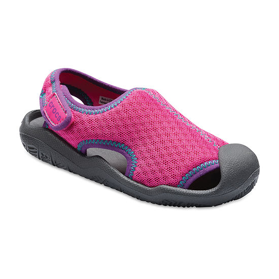 Crocs Toddler Unisex Kids Swiftwater Slip-On Shoe Soft Toe
