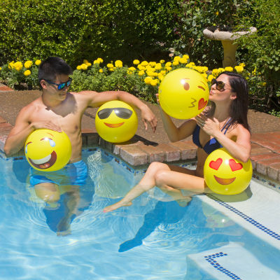 "Poolmaster 16"" Expressions Play Ball 4PK"