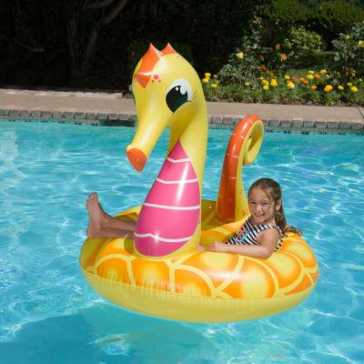 """Poolmaster 48"""" Yellow Seahorse Tube"""""""