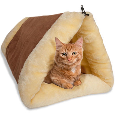 Paws & Pals 2-in-1 Cat Pet Bed Tunnel