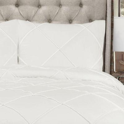 Lush Decor Diamond Pom Pom Comforter 3Pc Set