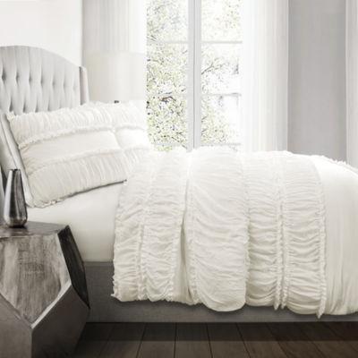 Lush Décor Nova Ruffle Comforter 3Pc Set