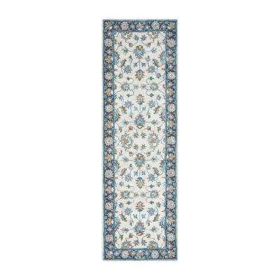 Rizzy Home Arden Loft-Crown Way Collection Aurelia Hand-Tufted Floral Rug