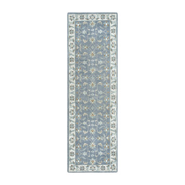 Rizzy Home Arden Loft-Crown Way Collection Beatrice Hand-Tufted Floral Rug