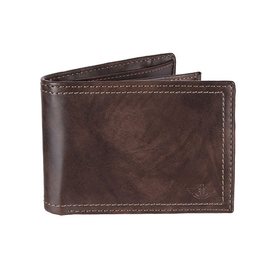 Dockers® Extra Capacity RFID Secure Slim Fold Wallet