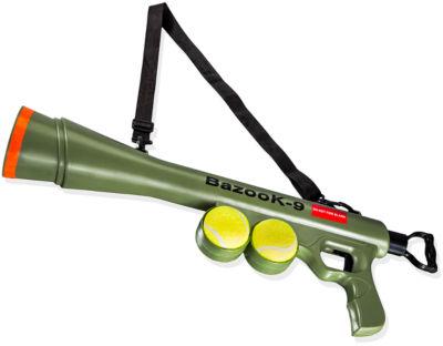 Paws & Pals Bazooka Ball Dog Toy