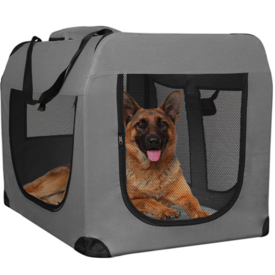 Paws & Pals Foldable Soft-Sided Dog Crate Pet Carrier