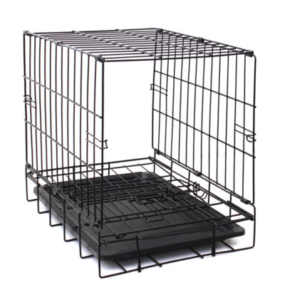 Paws & Pals Metal Dog Crate Double Door