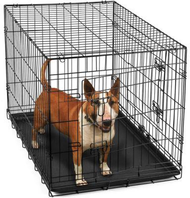 Paws & Pals Metal Dog Crate Double Door