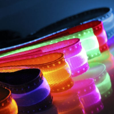 Paws & Pals LED Flashing Color Pet Collar