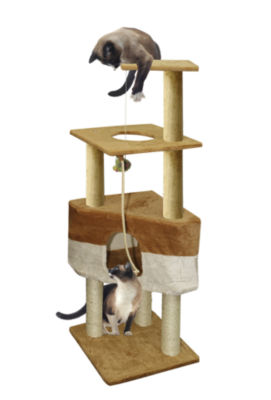 Paws & Pals Cat Tree House 8 Level