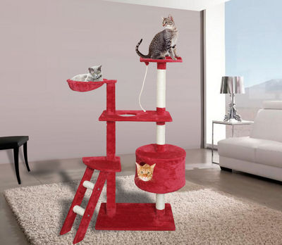 Paws & Pals Cat Tree House 6 Level
