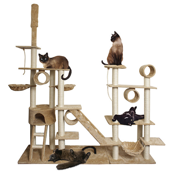 Paws & Pals Cat Tree House 10 Level