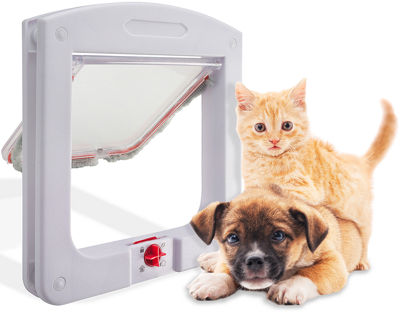 Paws & Pals Pet Flap Door with 4 Way Lock